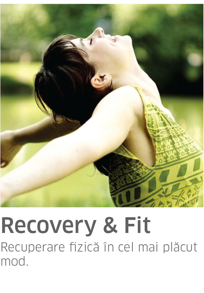 Pachet RECOVERY & FIT